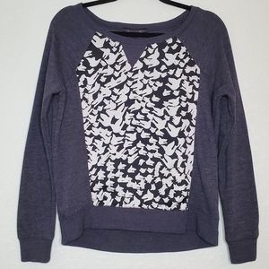FORENZA | Gray Sweatshirt with bird print
